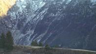 Archiv Foto Webcam Blick von Le Signal - Les Contamines 10:00