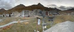 Archiv Foto Webcam Isola 2000: Talstation Skigebiet 02:00
