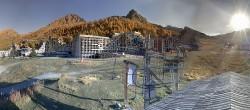 Archiv Foto Webcam Isola 2000: Talstation Skigebiet 04:00
