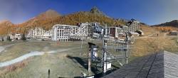 Archiv Foto Webcam Isola 2000: Talstation Skigebiet 08:00