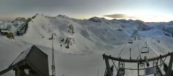 Archiv Foto Webcam Orcieres 1850 - Bergstation Sessellift Drouvet 02:00