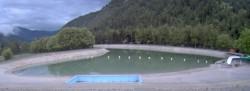 Archived image Webcam Val d'Allos - the village 00:00