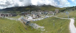 Archived image Webcam Saint Francois Longchamp: View Base Area 10:00