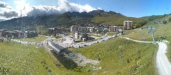 Archived image Webcam Saint Francois Longchamp: View Base Area 12:00