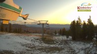 Archived image Webcam View from Top of North Star Express Quad. 01:00