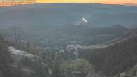 Archiv Foto Webcam Skilift und Piste 23:00