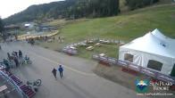 Archived image Webcam Village Day Lodge - Sun Peaks 11:00