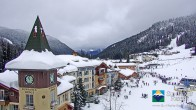 Archiv Foto Webcam Sun Peaks Grand Hotel 05:00