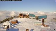 Archiv Foto Webcam Whistler: Peak 2 Peak Gondel 13:00