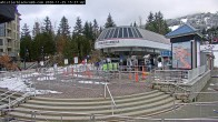 Archiv Foto Whistler Dorf Webcam 09:00