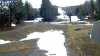 Archiv Foto Webcam Mont Sutton: Aussicht auf die Talstation 02:00