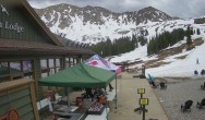 Archived image Webcam Arapahoe Basin – View Black Mountain Lodge 08:00