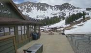 Archived image Webcam Arapahoe Basin – View Black Mountain Lodge 10:00