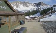 Archived image Webcam Arapahoe Basin – View Black Mountain Lodge 12:00