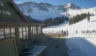 Archived image Webcam Arapahoe Basin – View Black Mountain Lodge 02:00