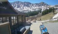 Archived image Webcam Arapahoe Basin – View Black Mountain Lodge 04:00