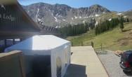 Archiv Foto Webcam Arapahoe Basin: Black Mountain Lodge 04:00