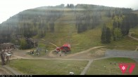 Archiv Foto Webcam Talstation Purgatory Village Express und Needless Lift 08:00