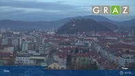 Archiv Foto Webcam Graz - Messeturm 01:00