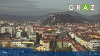Archiv Foto Webcam Graz - Messeturm 07:00