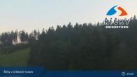 Archiv Foto Webcam Říčky v Orlických horách - Talstation 19:00