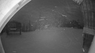Archiv Foto Webcam Sicht von der Berghütte auf den Kellogg Peak 18:00