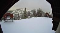 Archiv Foto Webcam Sicht von der Berghütte auf den Kellogg Peak 04:00