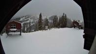 Archiv Foto Webcam Sicht von der Berghütte auf den Kellogg Peak 08:00