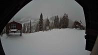 Archiv Foto Webcam Sicht von der Berghütte auf den Kellogg Peak 10:00