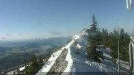 Archiv Foto Webcam Berggrat Ridge in Bridger Bowl 02:00