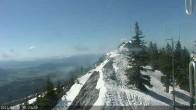 Archiv Foto Webcam Berggrat Ridge in Bridger Bowl 04:00