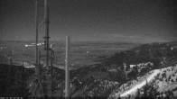 Archiv Foto Webcam Bridger Bowl, Blick von der Wetterkamera 18:00