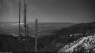 Archiv Foto Webcam Bridger Bowl, Blick von der Wetterkamera 22:00