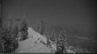 Archiv Foto Webcam North Ridge - Bridger Bowl 20:00