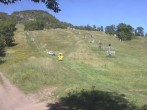 Archived image Webcam Hunter Mountain - Base Station 04:00