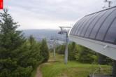 Archived image Webcam Top station of chairlift Cenry Vrch (Ještěd) 00:00