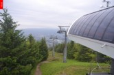Archived image Webcam Top station of chairlift Cenry Vrch (Ještěd) 02:00