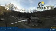 Archiv Foto Webcam Courmayeur - Pra Neyron 01:00