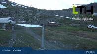 Archiv Foto Webcam La Thuile - Gondel Les Suches 19:00