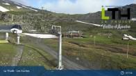 Archiv Foto Webcam La Thuile - Gondel Les Suches 23:00