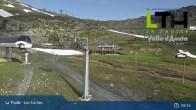 Archiv Foto Webcam La Thuile - Gondel Les Suches 01:00