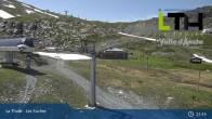 Archiv Foto Webcam La Thuile - Gondel Les Suches 07:00