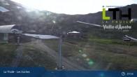 Archiv Foto Webcam La Thuile - Gondel Les Suches 11:00