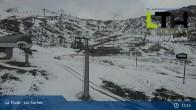 Archiv Foto Webcam La Thuile - Gondel Les Suches 08:00