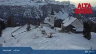 Archived image Webcam Alta Badia Ski Resort - La Crusc 23:00