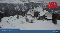 Archived image Webcam Alta Badia Ski Resort - La Crusc 05:00