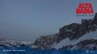 Archived image Webcam Passo Gardena - Alta Badia 19:00