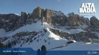 Archiv Foto Webcam Alta Badia - Passo Gardena 17:00