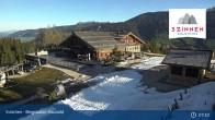 Archiv Foto Webcam 3 Zinnen - Innichen Bergstation Haunold 06:00
