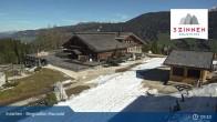Archiv Foto Webcam 3 Zinnen - Innichen Bergstation Haunold 08:00